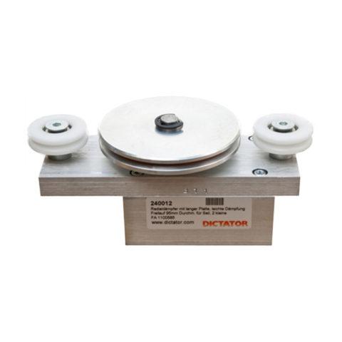Amortisseur radial pour câble tendu