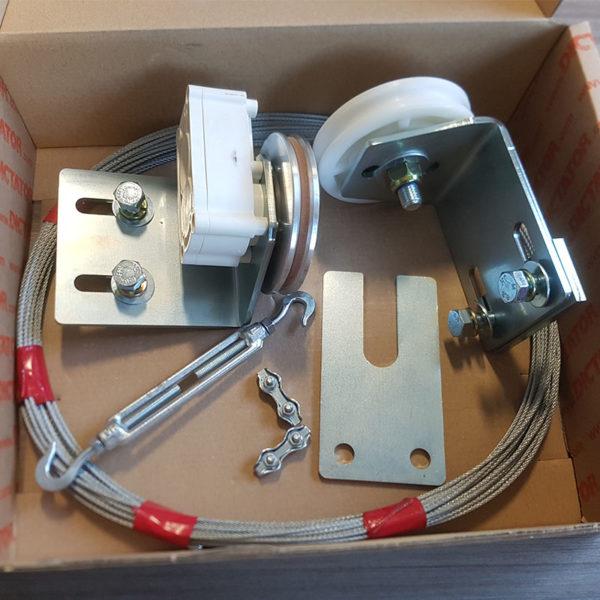 kit complet d'amortisseur radial 1 poulie