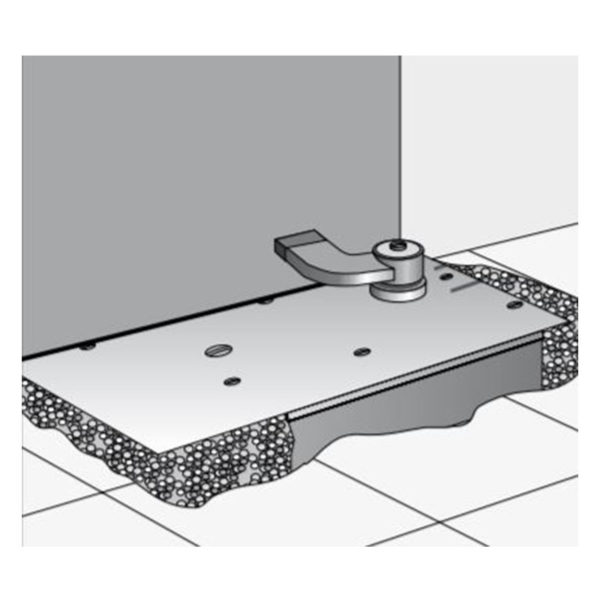 paraffine de remplissage pour la boîte à scellement ferme-porte au sol WAB 180